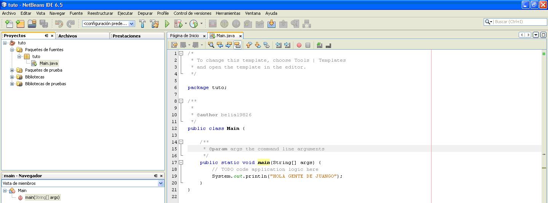 Mostrar Lineas De Texto Java 1