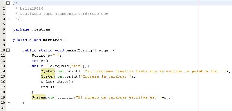 Ciclos En Java 3