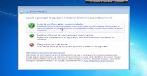 Configuración Actualizaciones.