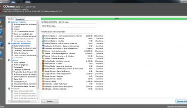 CCleaner optimizador de windows