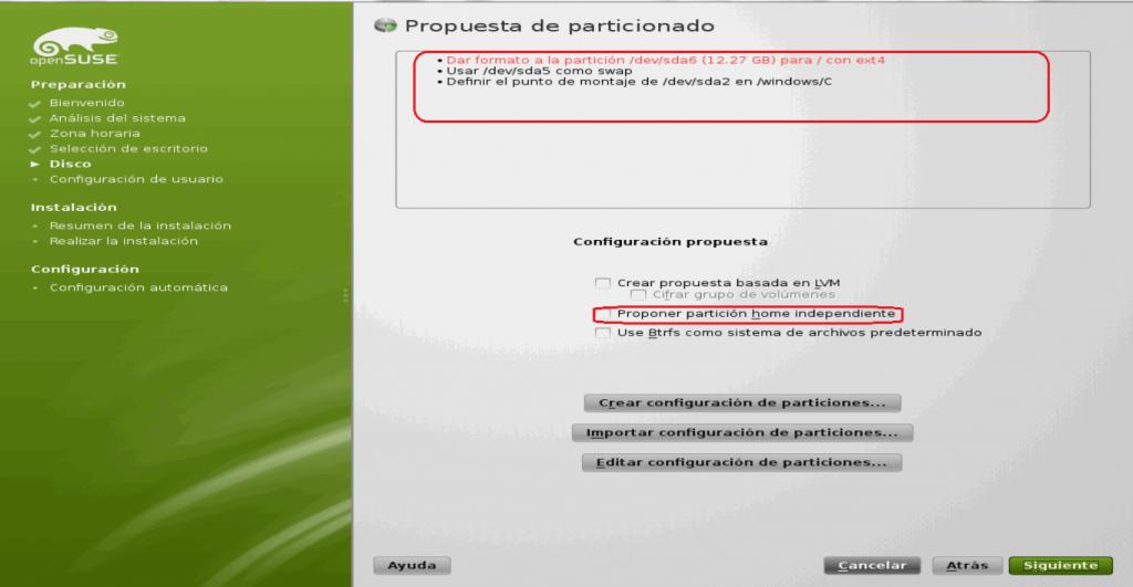 Instalar OpenSuse Junto a Windows 7 15