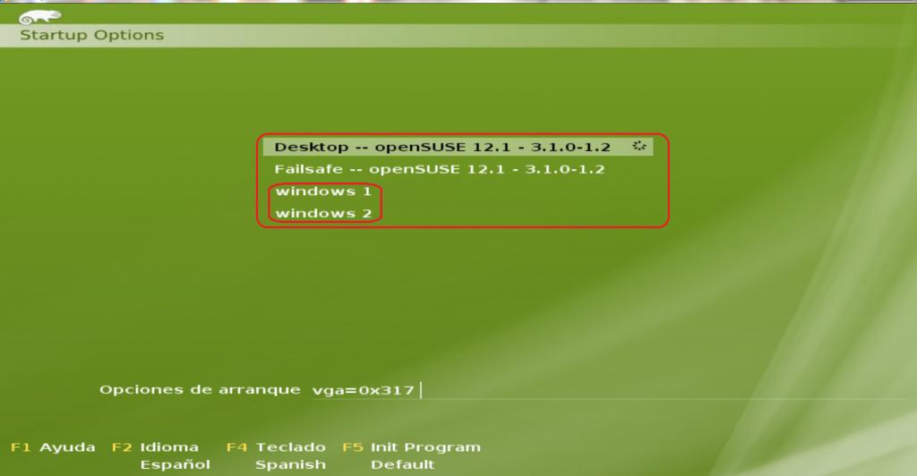 Instalar OpenSuse Junto a Windows 7 16