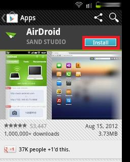 Administrar Galaxy Fit por Wifi 1