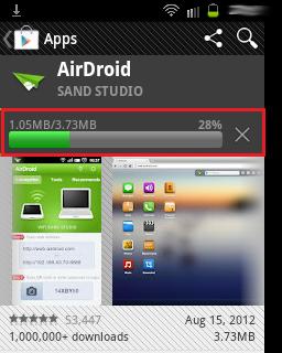 Administrar Galaxy Fit por Wifi 2