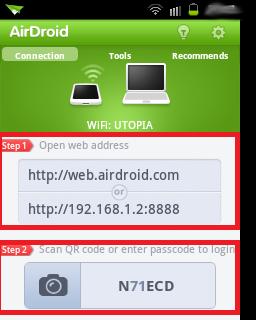 Administrar Galaxy Fit por Wifi 4