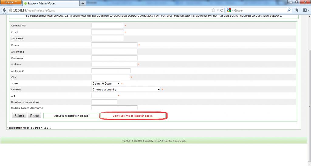 Configurar Protocolo SIP en Trixbox 3