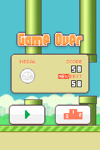 puntuacion alta Flappy Bird