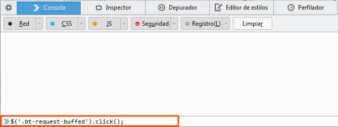 funcion contactar perfiles linkedin por consola