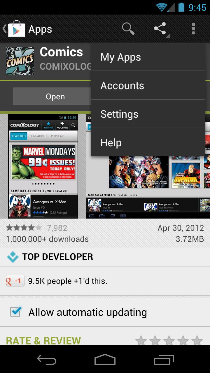 aplicaciones la google play store