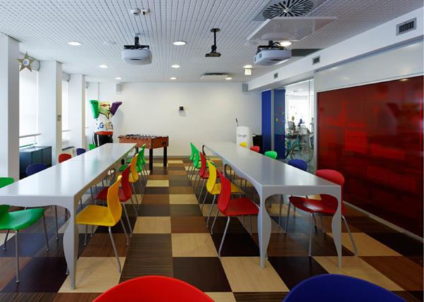 oficina de google en milan