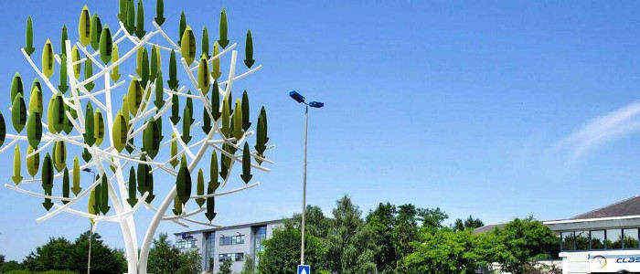 tecnologia arboles eolicos