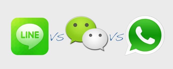 Por Qué WeChat Podría Ser Mejor Que WhatsApp Y Line?