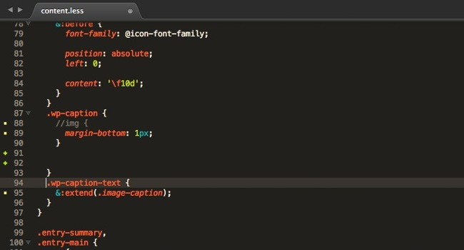extension git gutter sublime text