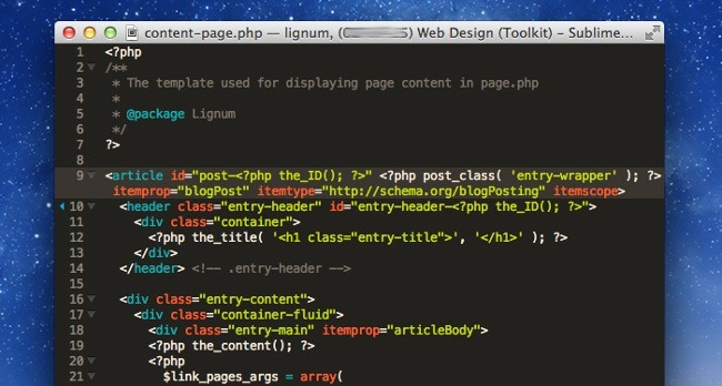 extension sublime text distraction free