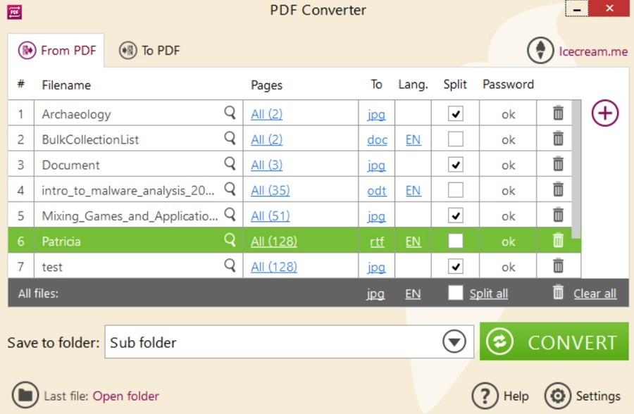 herramienta para convertir pdf