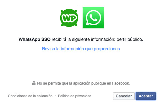 integrar whatsapp con facebook