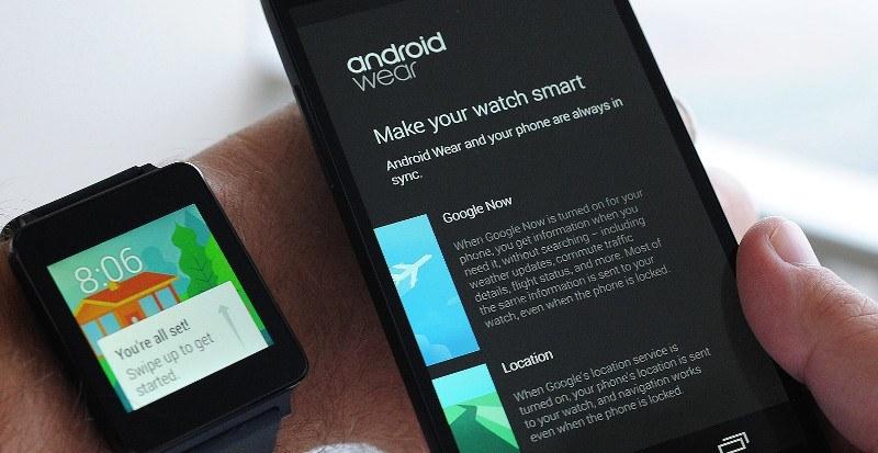 configuracion de android wear