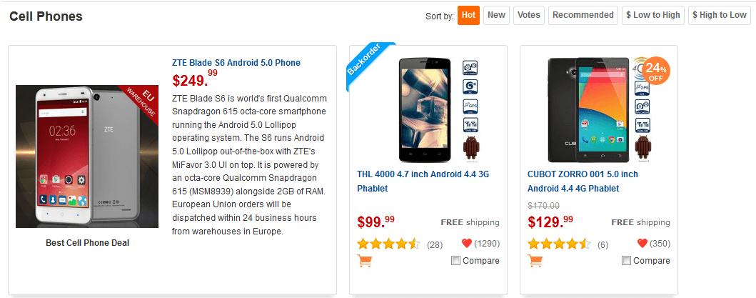 comprar smartphone a buen precio