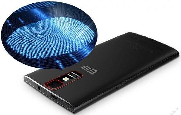 huella dactilar smartphone