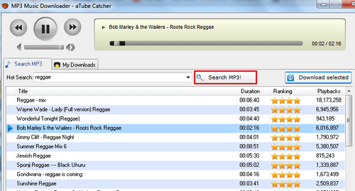 descargar mp3 en atube catcher