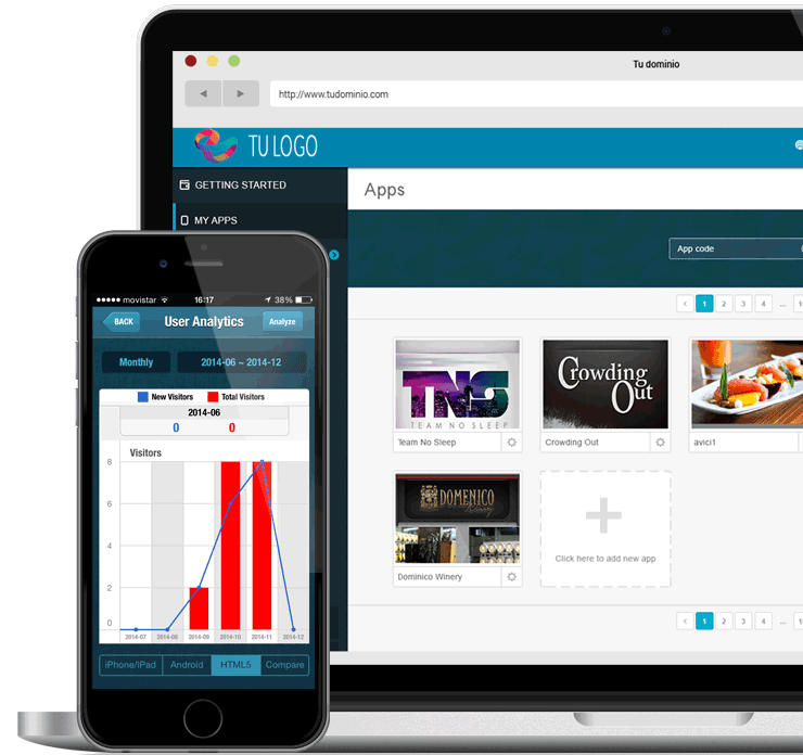 plataforma app net