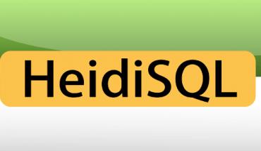 cargar base de datos con heidisql