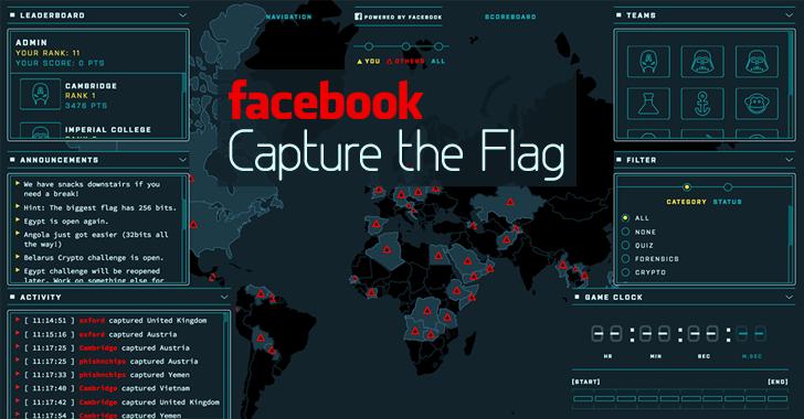 capture the flag en facebook