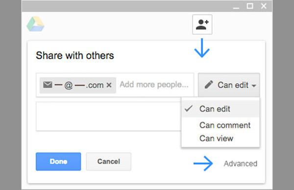 habilitar google docs