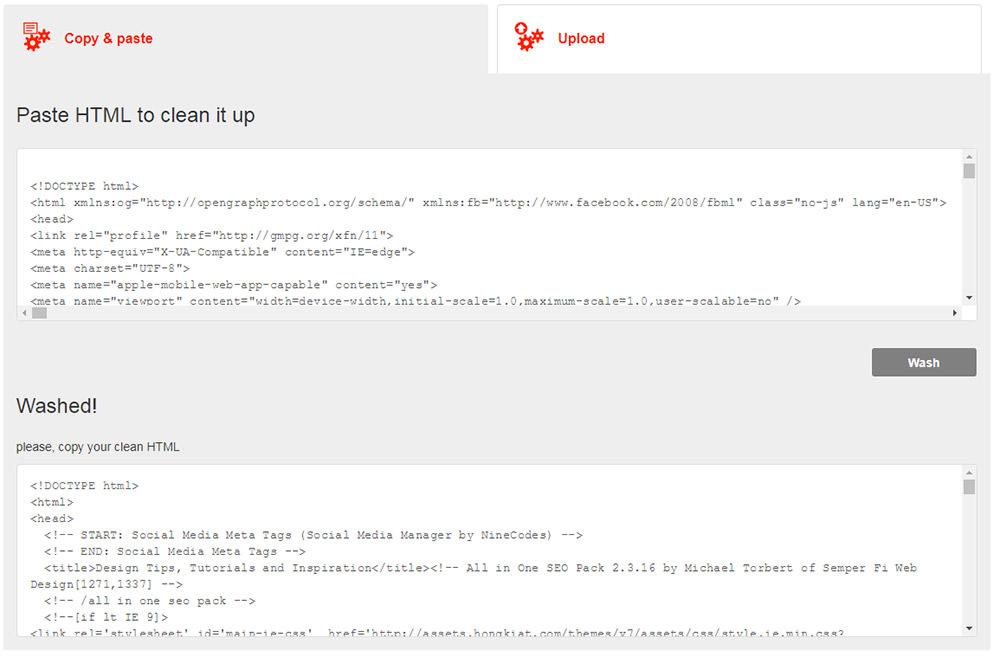 limpiar-html-codigo-html-washer