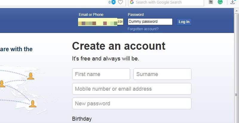 password-mostrada