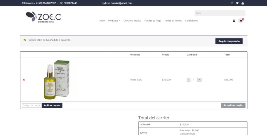 CARRITO DE COMPRAS PAGINA WEB COLOMBIA