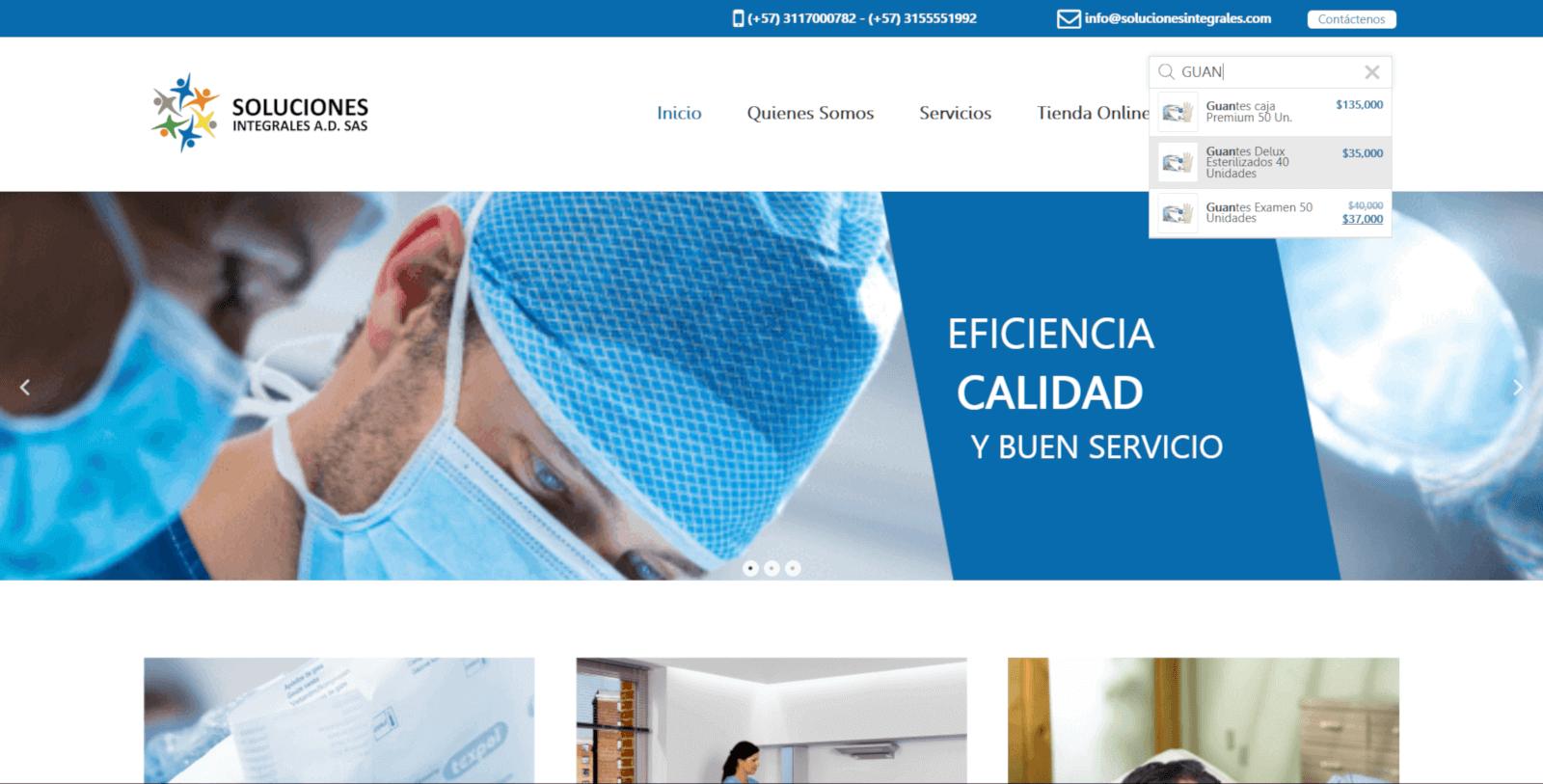 CREAR PAGINA WEB COLOMBIA JAGONZALEZ SOLUCIONES INTEGRALES