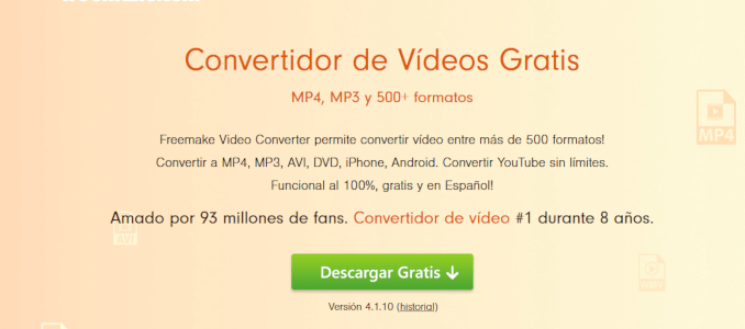 FREEMAKE-CONVERTIDOR-VIDEOS