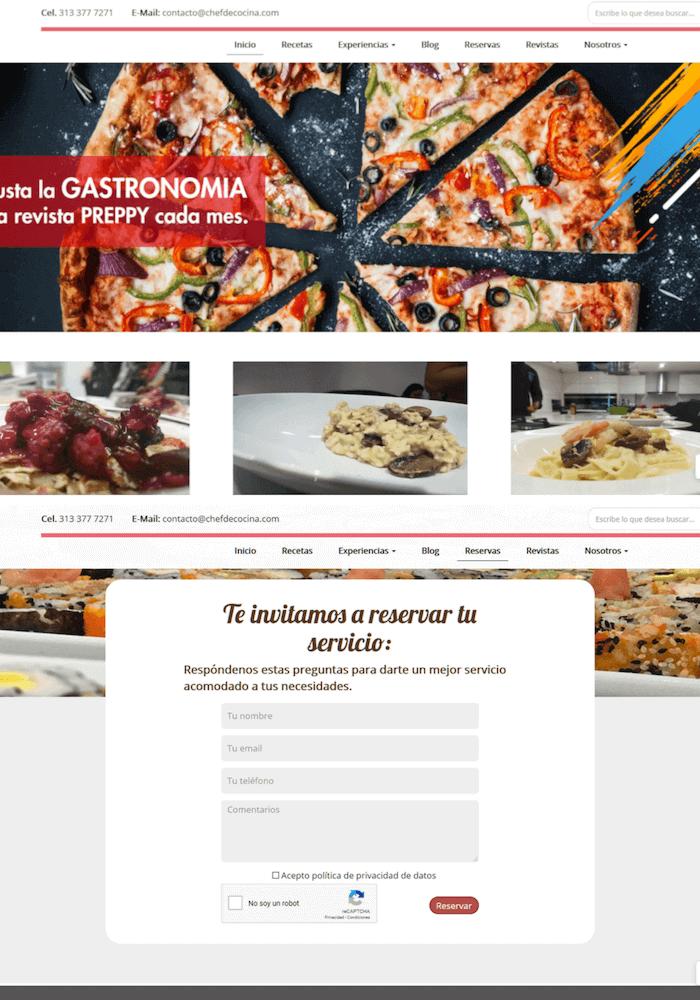 SITIO WEB CHEFDECOCINA 1