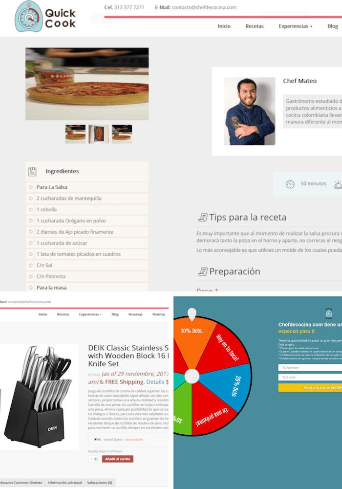 SITIO WEB CHEFDECOCINA 2