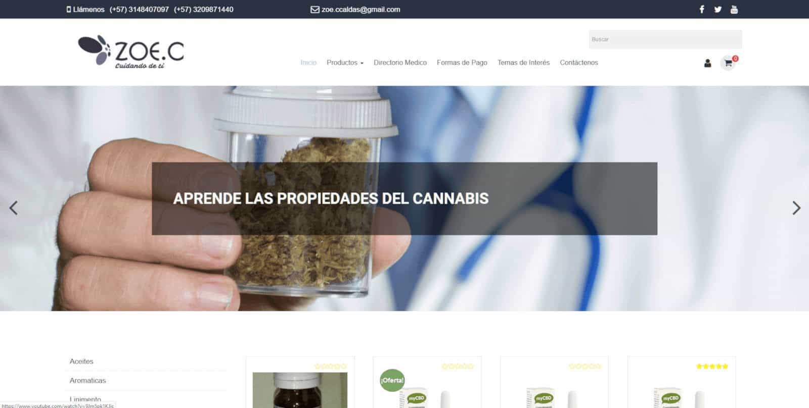 zoecanabis TIENDA VIRTUAL COLOMBIA